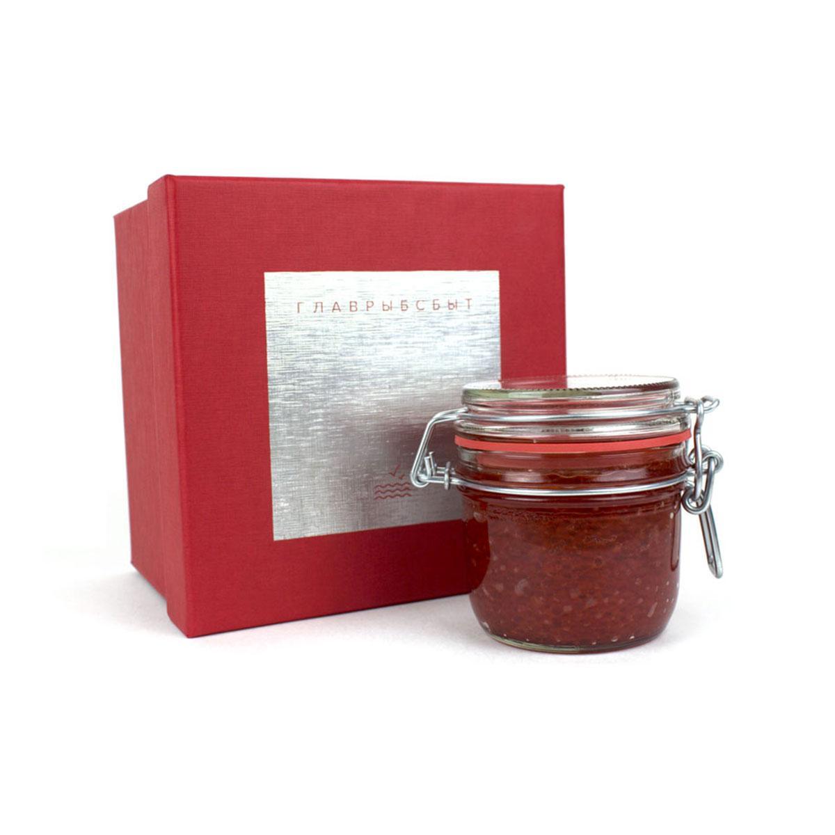 Красная икра в подарочной коробке 250 г